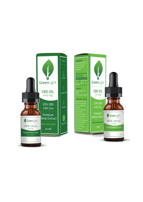 GreenLight 10% CBD Oil